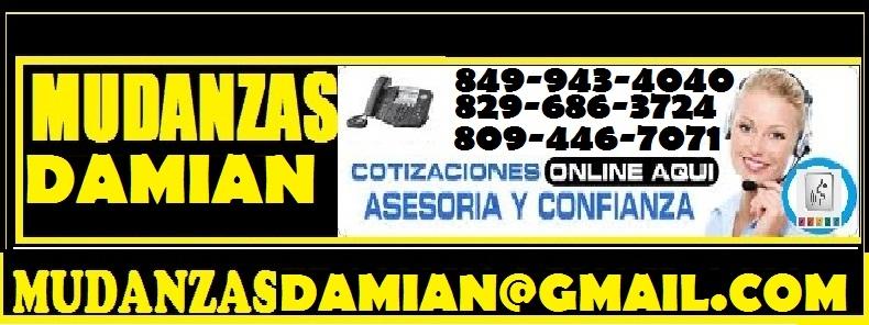 mudanzas y servicios de carga  damian849 943 4040