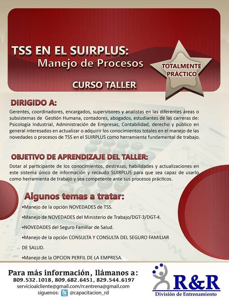 TSS en el SUIRPLUS