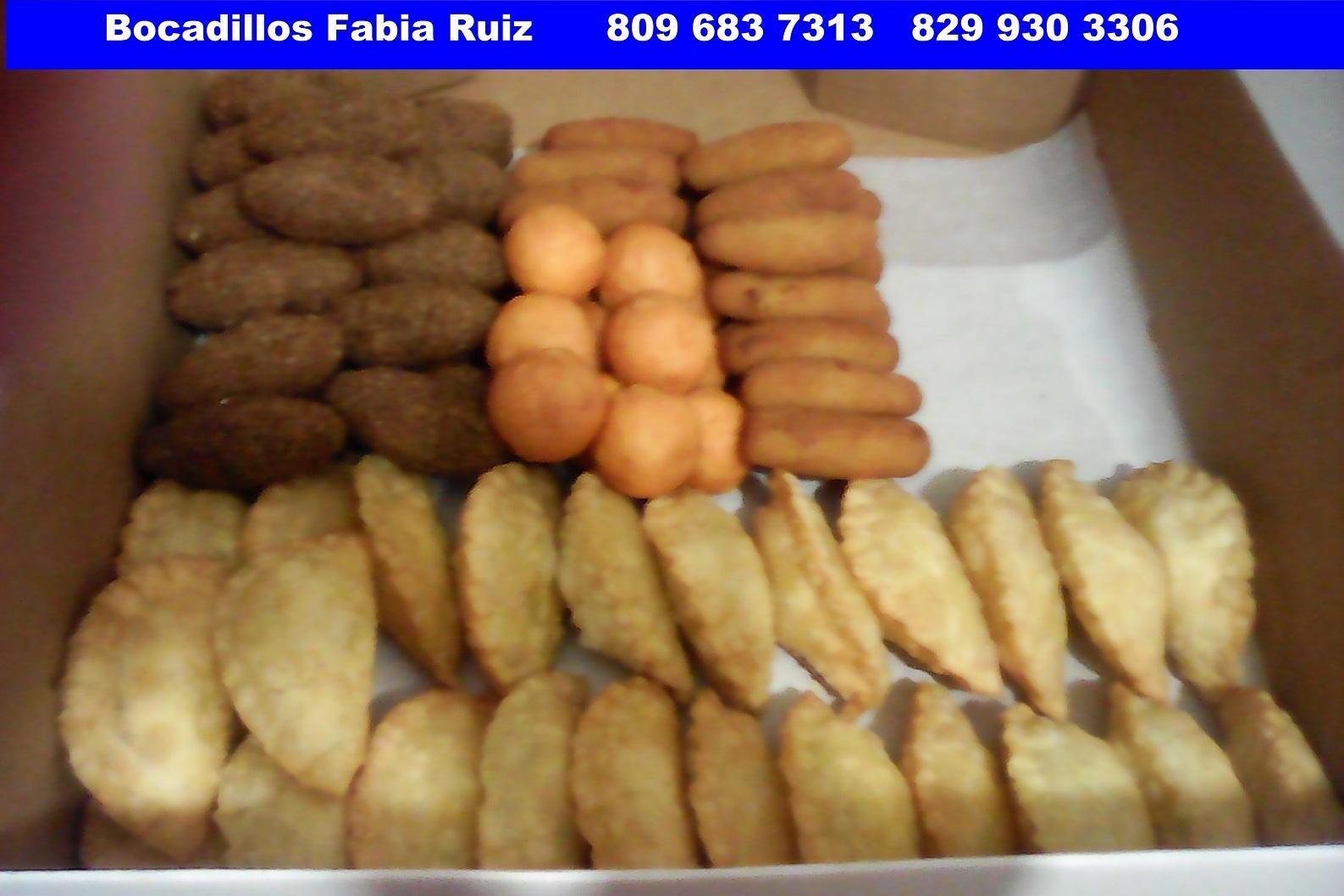 Picaderas y Bocadillos Fabia Ruiz